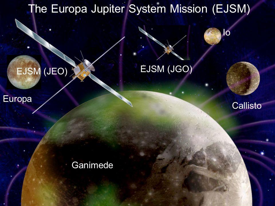 Io Europa Ganimede EJSM (JEO) Callisto The Europa Jupiter System Mission (EJSM) EJSM (JGO)