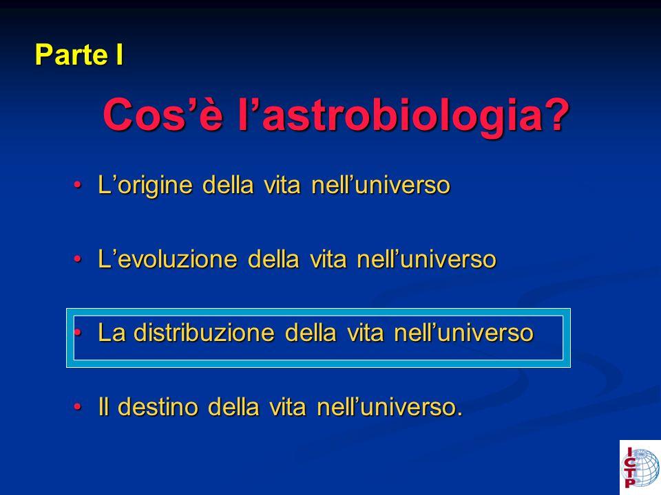 Cosè lastrobiologia.