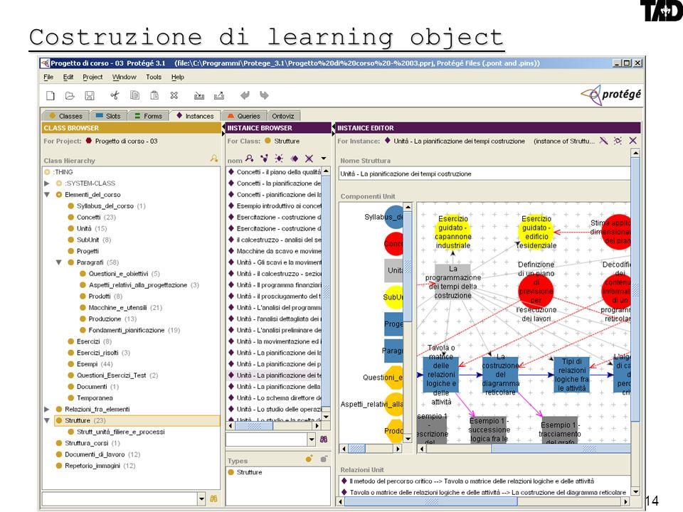 14 Costruzione di learning object