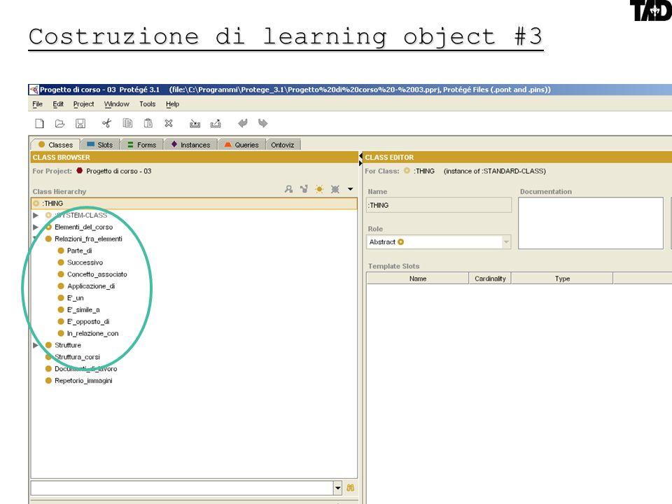 16 Costruzione di learning object #3