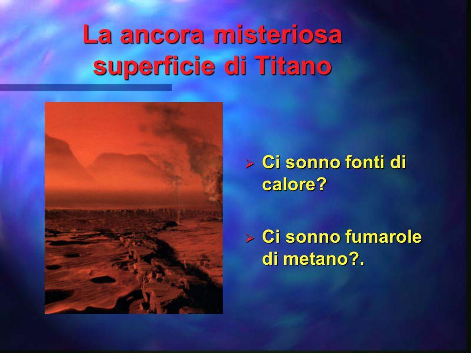 Discesa sotto latmosfera di Titano (Gennaio 2005) 25 Decembre 2004 15 Gennaio 2005