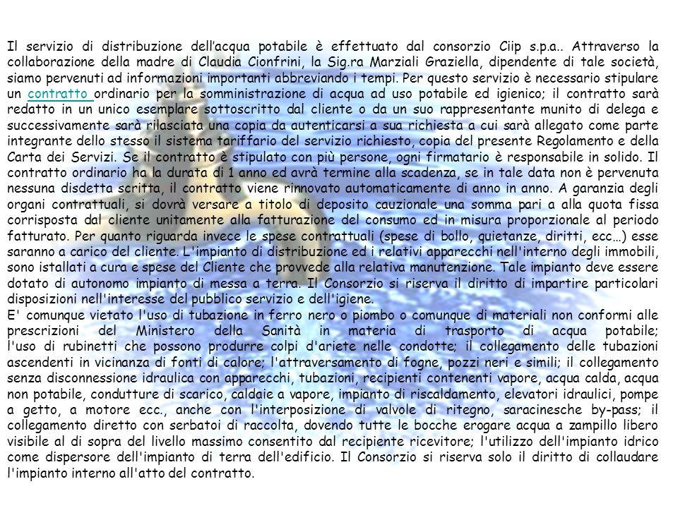 Per tutto ciò che riguarda la legge 626 abbiamo contattato il distaccamento dei vigili del fuoco di Fermo che ci hanno aiutato a trovare le informazio