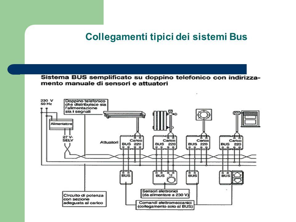Collegamenti tipici dei sistemi Bus