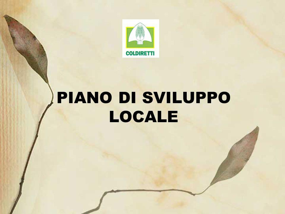 PIANO DI SVILUPPO LOCALE