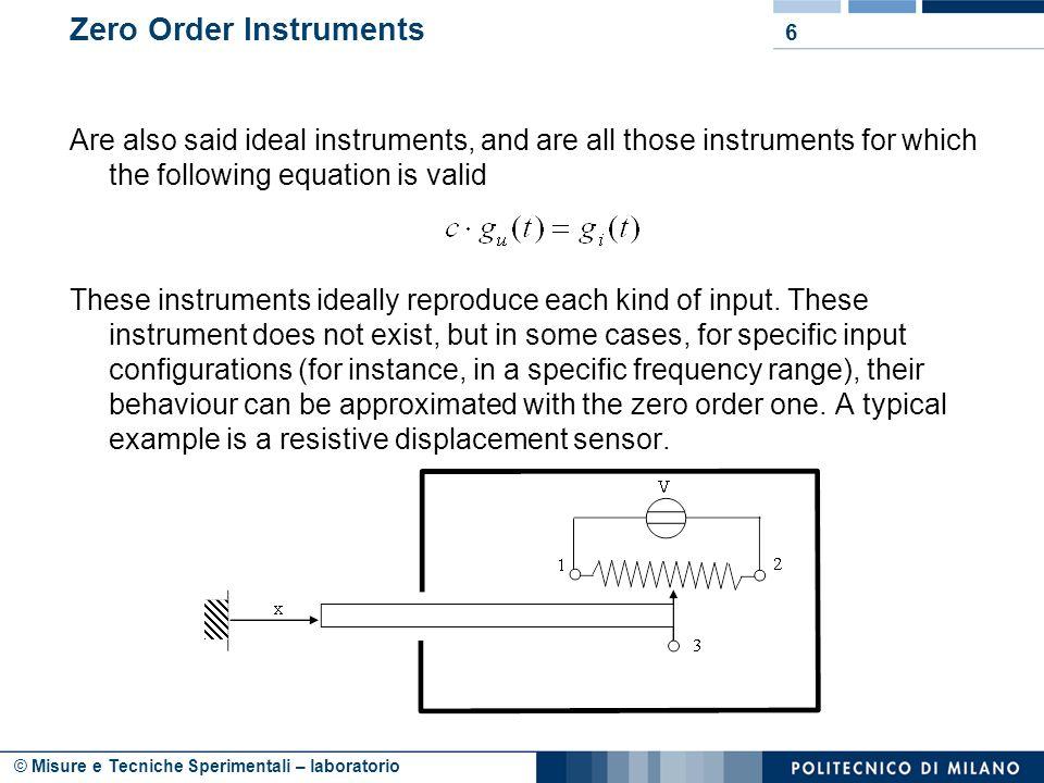 © Misure e Tecniche Sperimentali – laboratorio How does it work.