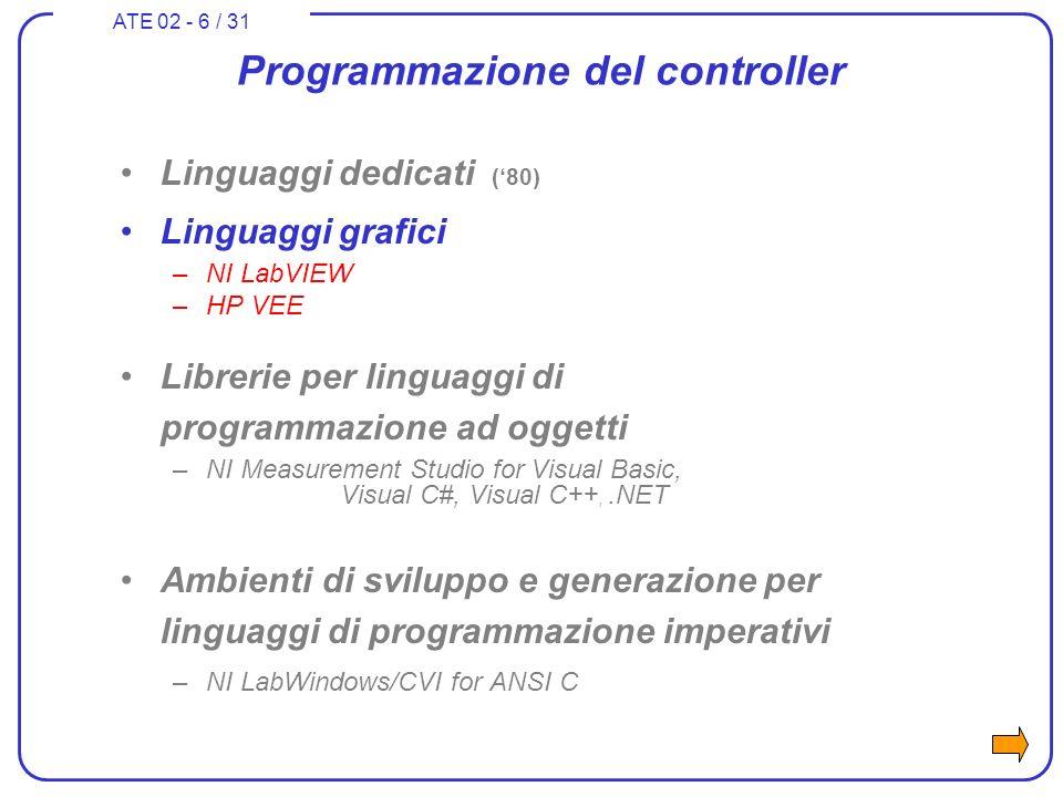 ATE 02 - 27 / 31 What is LabWindows/CVI.