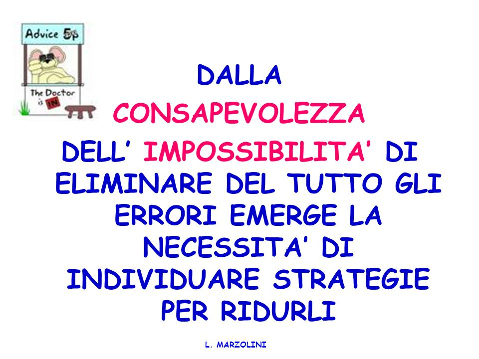 L.MARZOLINI IL CONTESTO PATIENT SAFETY Clinical Governance Risk Management Quality Improvement W.
