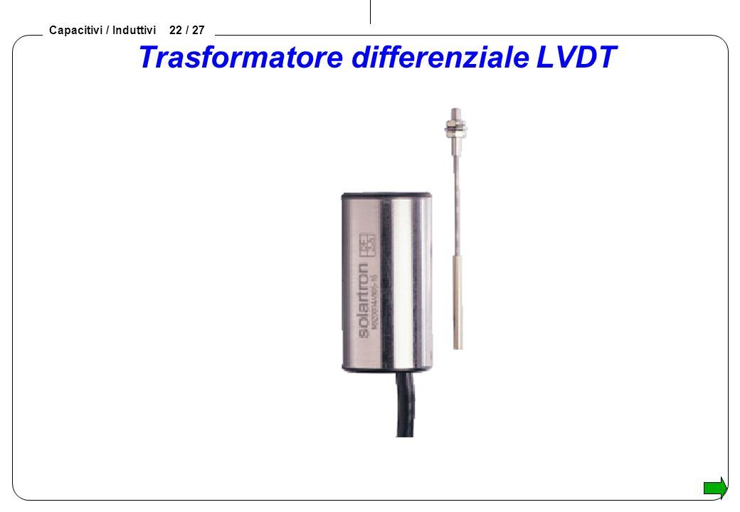 Capacitivi / Induttivi 22 / 27 Trasformatore differenziale LVDT