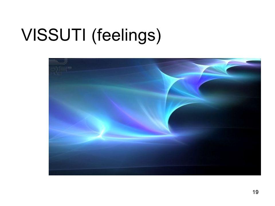 19 VISSUTI (feelings)