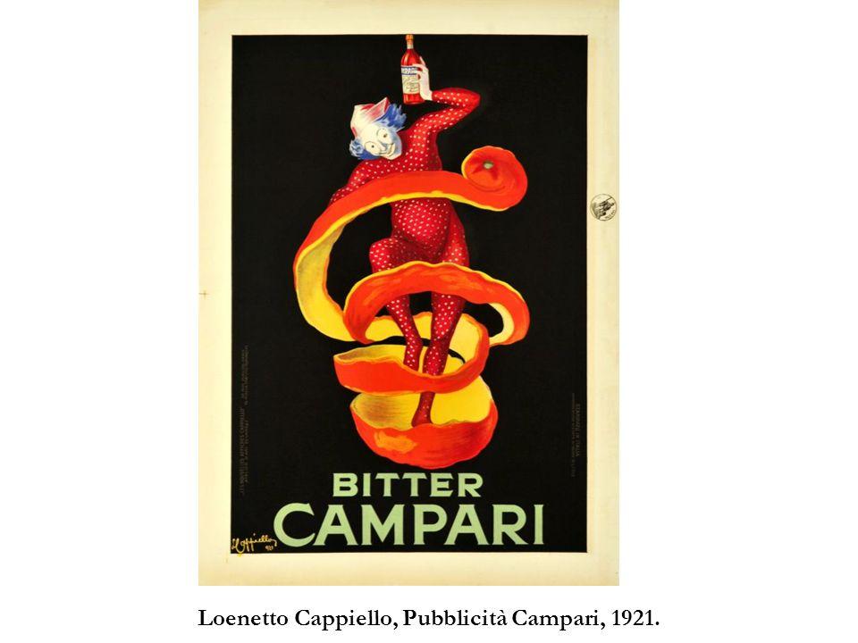Loenetto Cappiello, Pubblicità Campari, 1921.