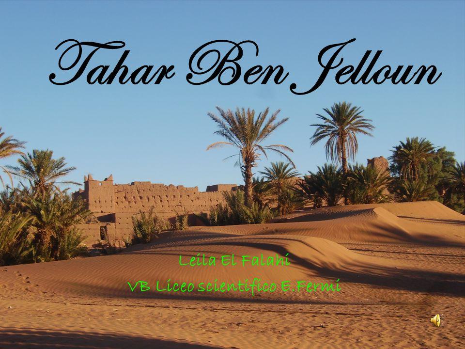 Tahar Ben Jelloun Leila El Falahi VB Liceo scientifico E.Fermi
