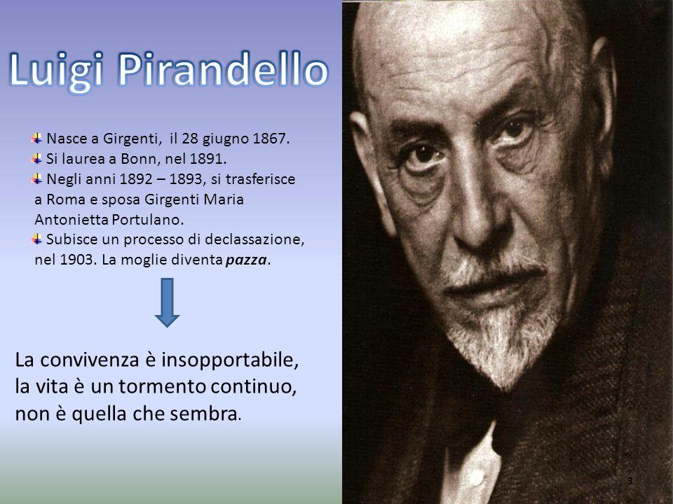 Nasce a Girgenti, il 28 giugno 1867. Si laurea a Bonn, nel 1891. Negli anni 1892 – 1893, si trasferisce a Roma e sposa Girgenti Maria Antonietta Portu