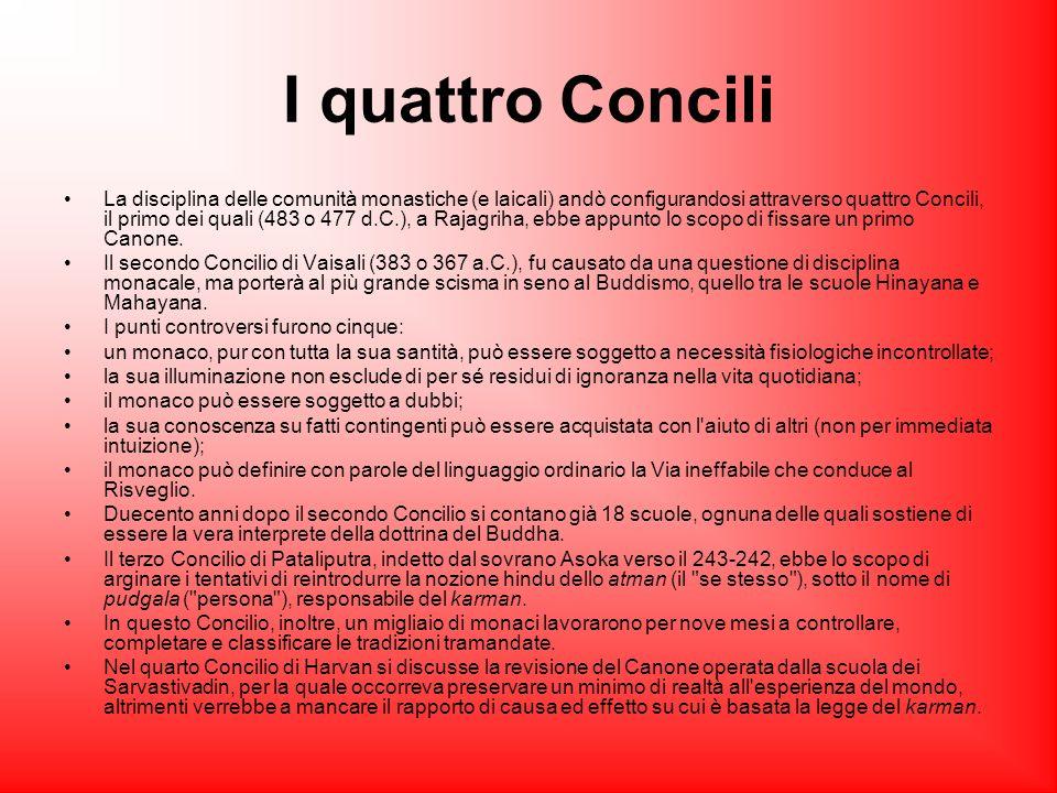I quattro Concili La disciplina delle comunità monastiche (e laicali) andò configurandosi attraverso quattro Concili, il primo dei quali (483 o 477 d.