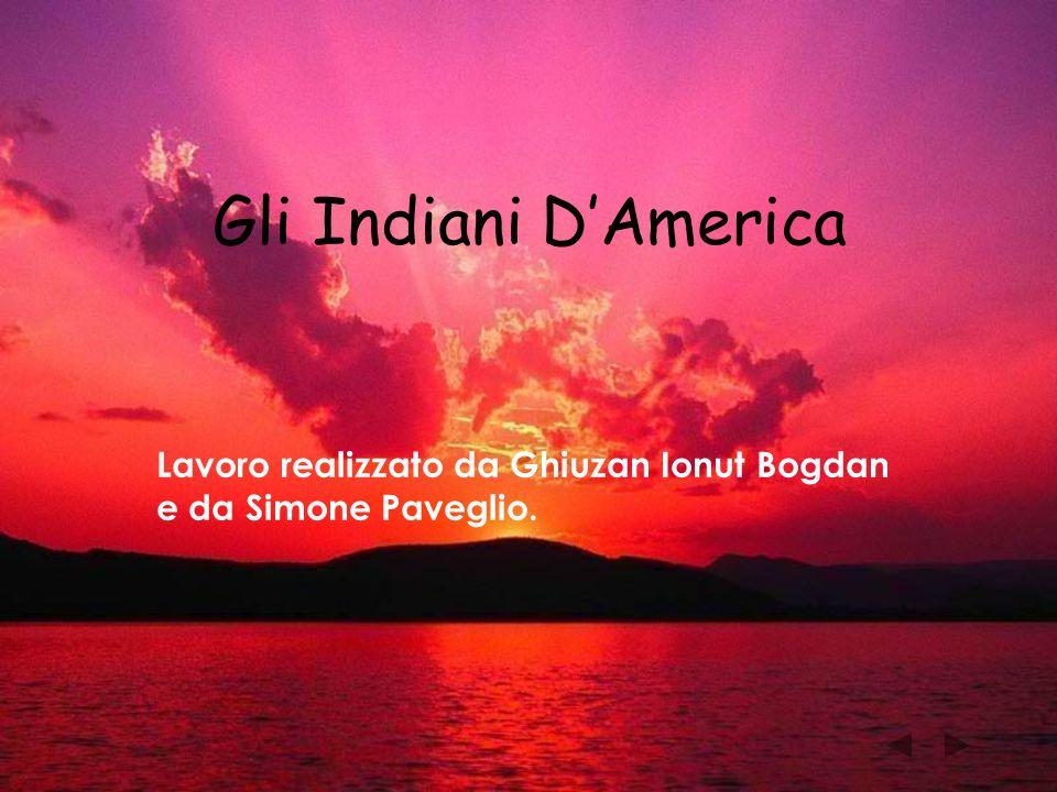 Gli Indiani DAmerica Lavoro realizzato da Ghiuzan Ionut Bogdan e da Simone Paveglio.