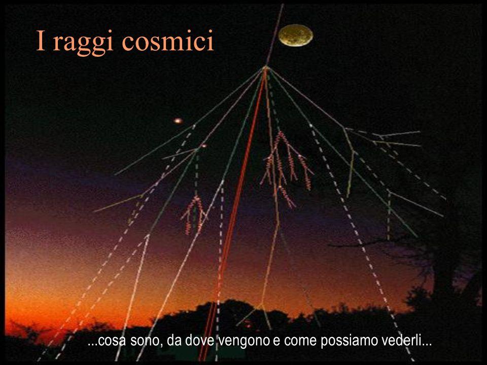 I raggi cosmici...cosa sono, da dove vengono e come possiamo vederli...