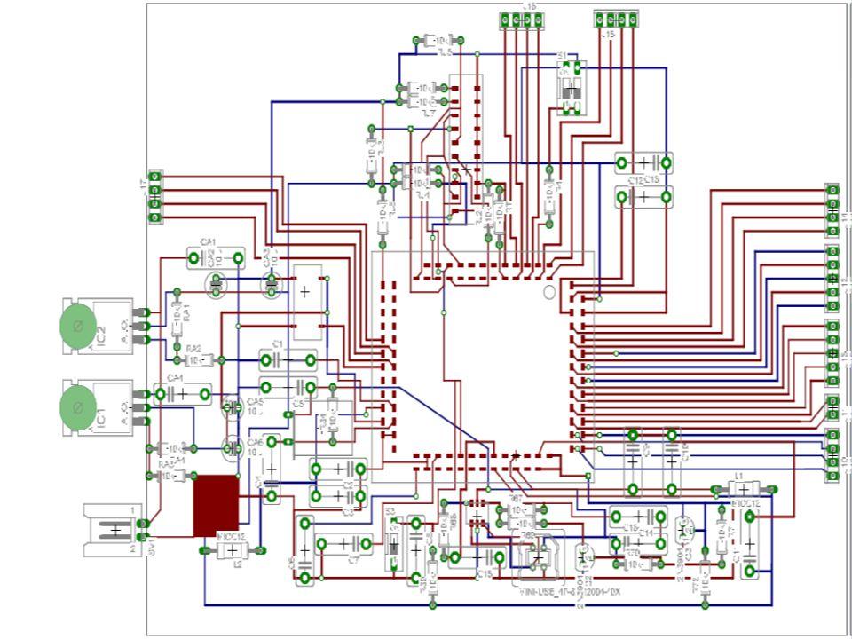 Per disegnare i processori e le schede elettroniche si usano sofisticati programmi di grafica Interno CPU