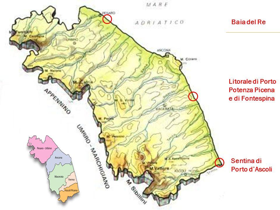 Baia del Re Litorale di Porto Potenza Picena e di Fontespina Sentina di Porto dAscoli