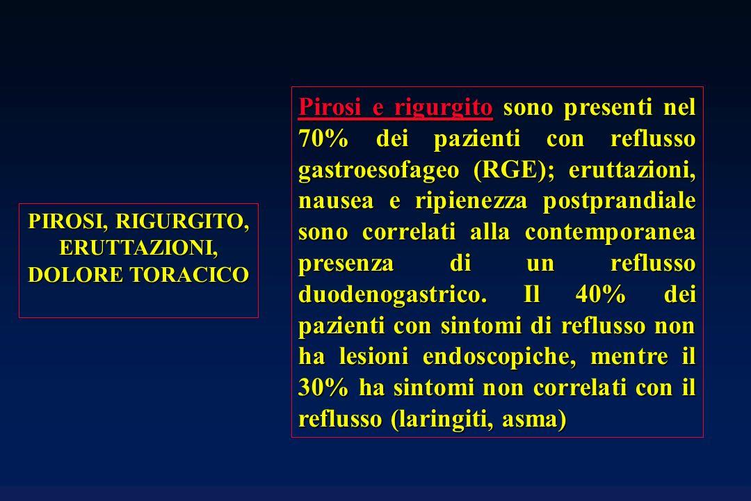 La terapia chirurgica del reflusso gastroesofageo si basa sulla confezione di un neo-sfintere esofago-gastrico ottenuto avvolgendo il fondo gastrico intorno allesofago (fundoplicatio); il decadimento nel tempo della continenza gastroesofagea ottenuta è inversamente proporzionale al grado di avvolgimento, essendo minimo nelle fundoplicatio totali (360°: intervento di Nissen o Nissen-Rossetti).