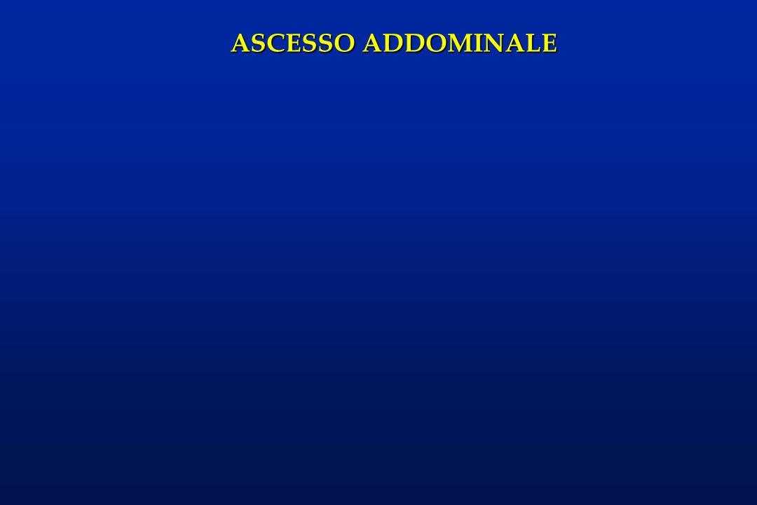 ASCESSO ADDOMINALE