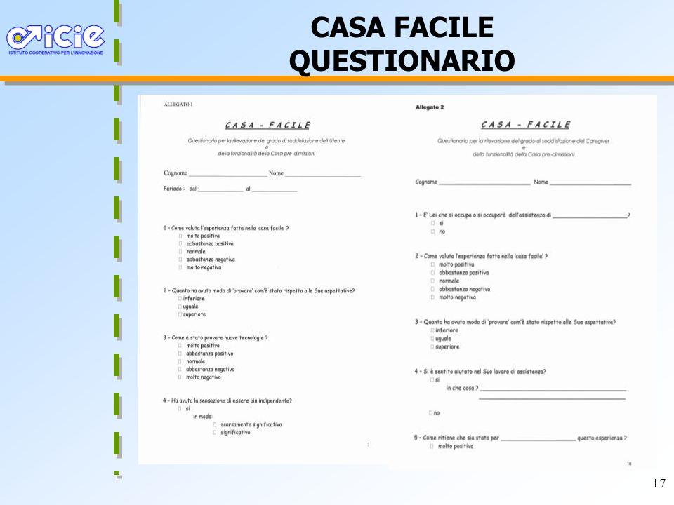 17 CASA FACILE QUESTIONARIO