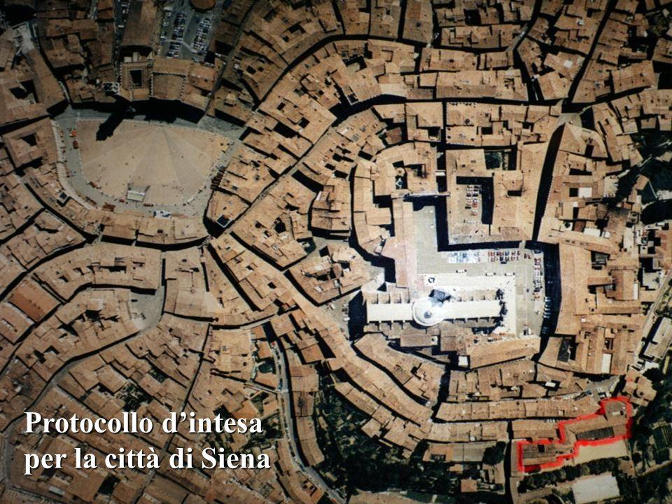31 Protocollo dintesa per la città di Siena