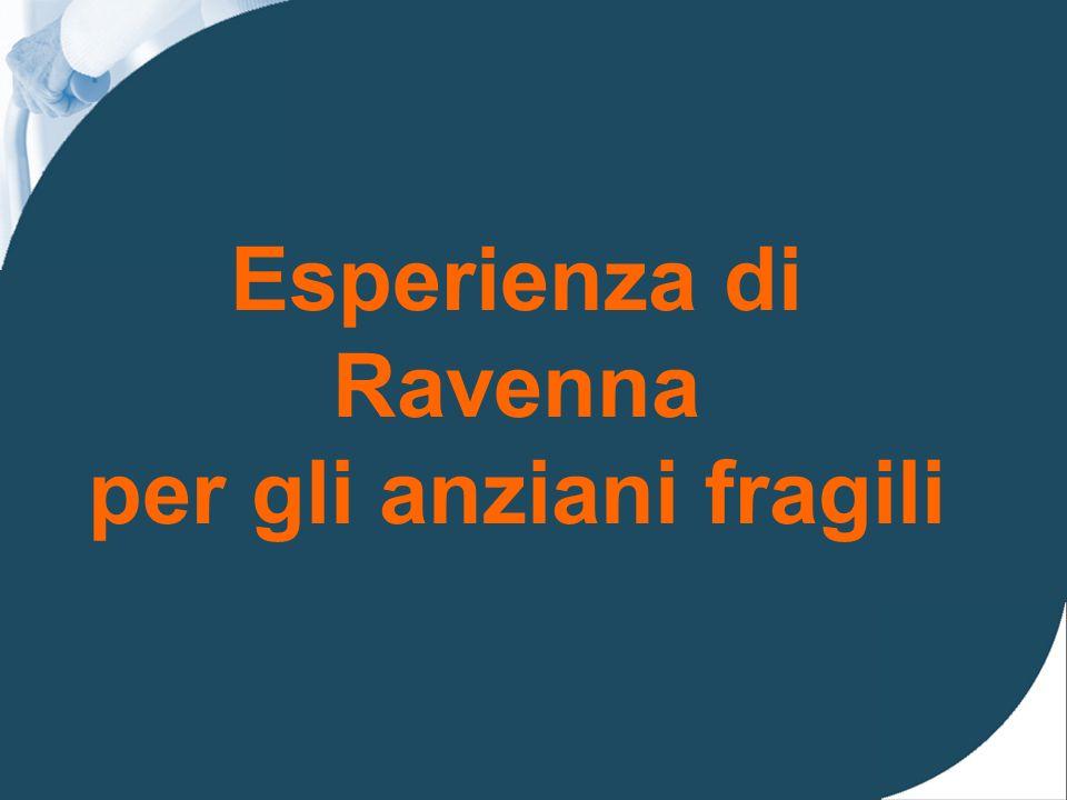 Esperienza di Ravenna per gli anziani fragili