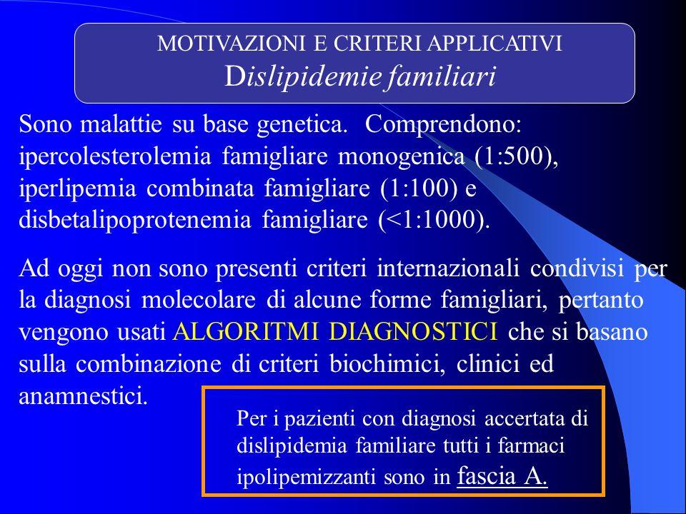 PRESCRIZIONE ALTO DOSAGGIO (CRF, novembre 2006) Vantaggi documentati: nel breve-medio termine nei pz con sindrome coronarica acuta (SCA) nelle iperlipidemie famigliari