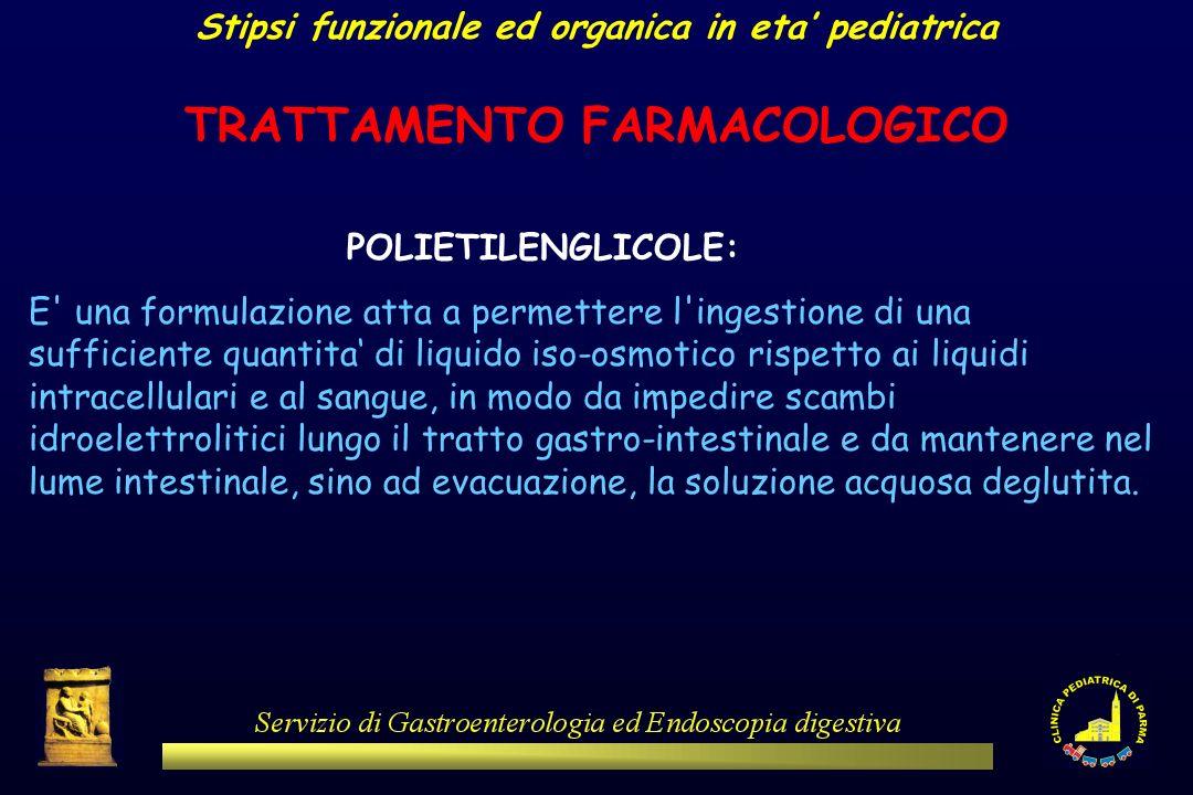 POLIETILENGLICOLE: E' una formulazione atta a permettere l'ingestione di una sufficiente quantita di liquido iso-osmotico rispetto ai liquidi intracel