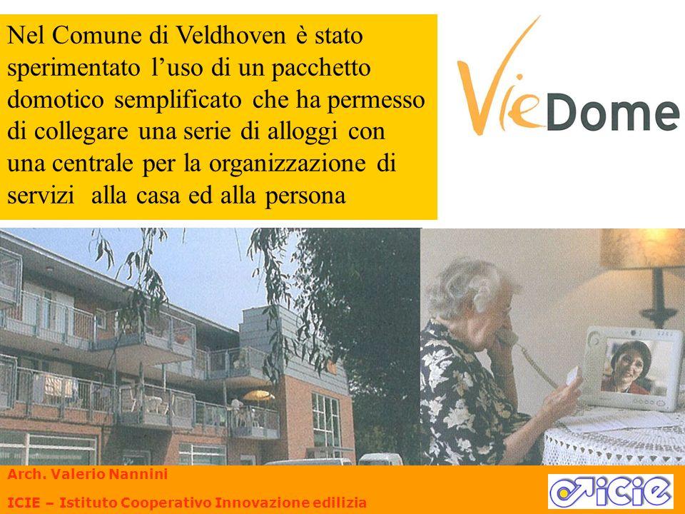 Nel Comune di Veldhoven è stato sperimentato luso di un pacchetto domotico semplificato che ha permesso di collegare una serie di alloggi con una cent