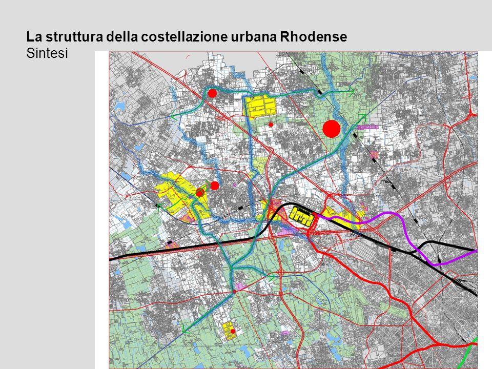La struttura della costellazione urbana Rhodense Sintesi