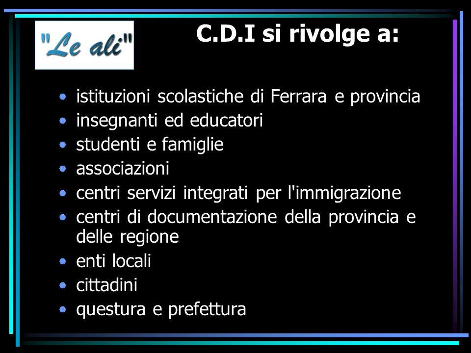 Struttura del CDI La struttura operativa del centro è costituita da un comitato tecnico-scientifico, che elabora i piani di intervento con la relativa previsione di spesa, coordina l attuazione e ne verifica in itinere lo svolgimento.