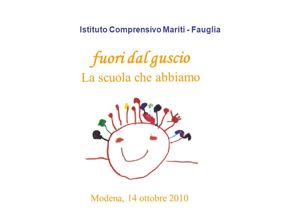 Istituto Comprensivo Mariti - Fauglia fuori dal guscio La scuola che abbiamo Modena, 14 ottobre 2010