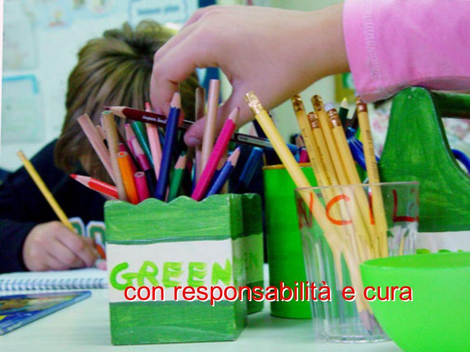 con responsabilità e cura
