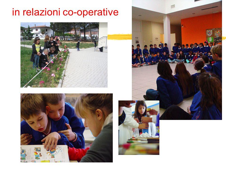 in relazioni co-operative