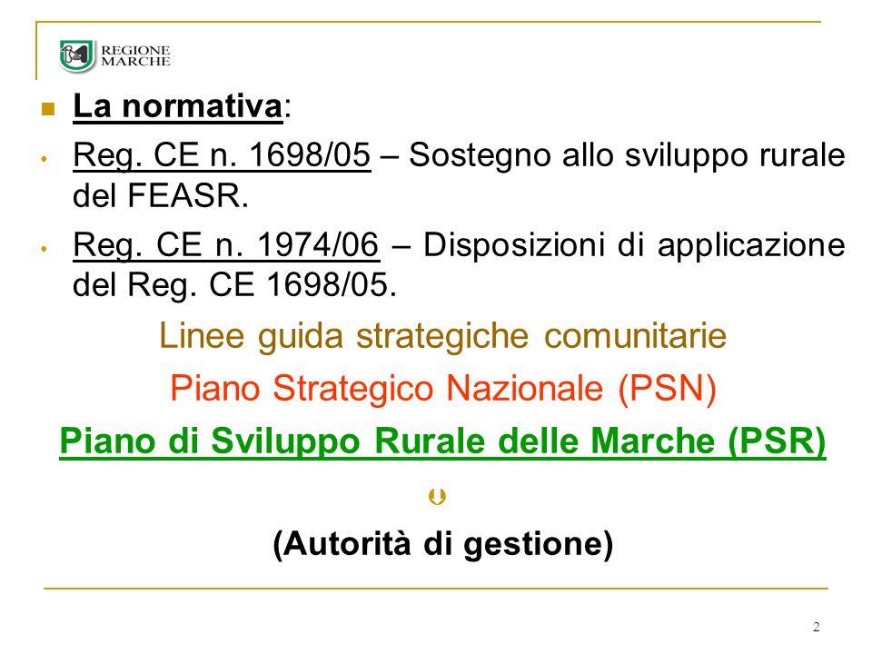 3 Reg.CE 796/04 – Istituzione del Sistema Integrato di Gestione e Controllo (SIGC).