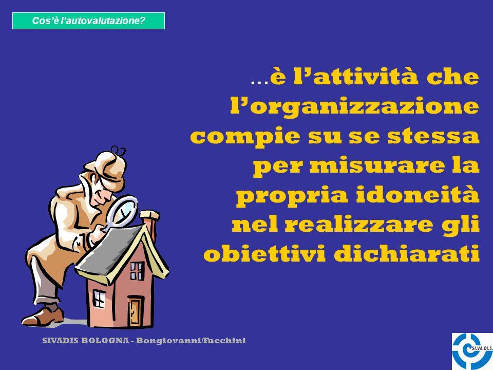 SIVADIS BOLOGNA - Bongiovanni/Facchini Cosè lautovalutazione.