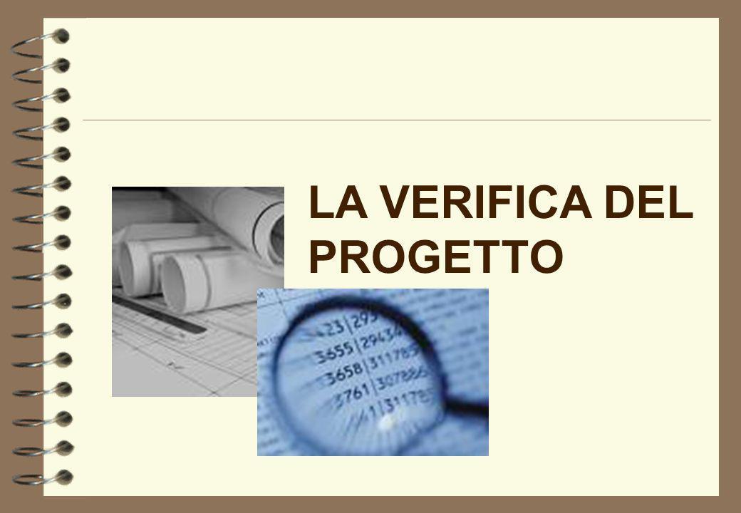 VERIFICA E VALIDAZIONE DEL PROGETTO LA SITUAZIONE PRECEDENTE - DPR 554/99 Art.