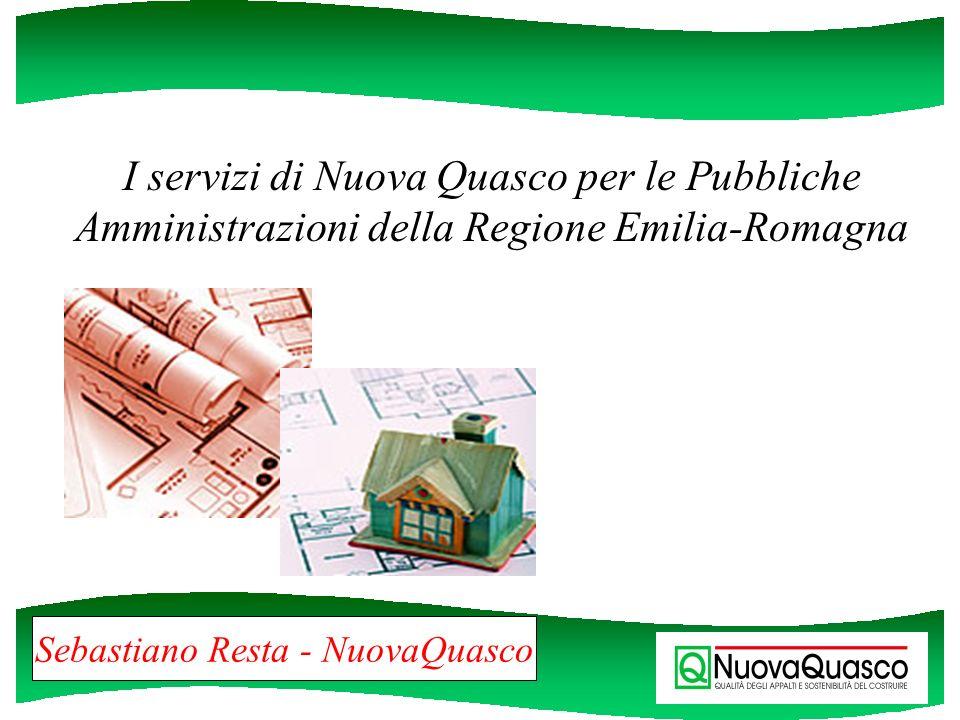 La società La società è stata costituita nel 1985, come Centro Servizi Quasco, su iniziativa della Regione Emilia-Romagna, tramite la propria società controllata Ervet Spa.