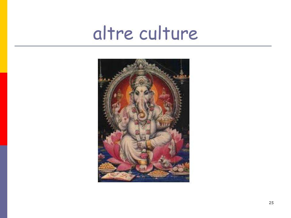 25 altre culture