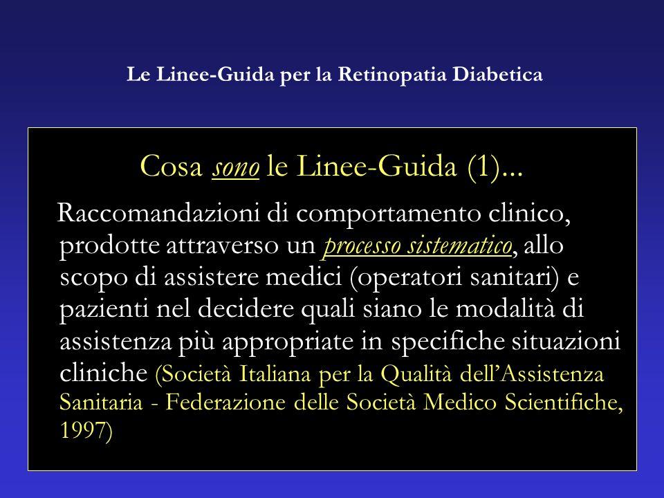 Cosa sono le Linee-Guida (1)...