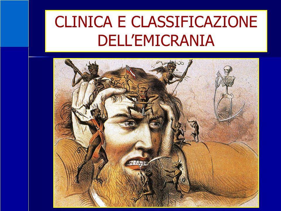 CLINICA E CLASSIFICAZIONE DELLEMICRANIA