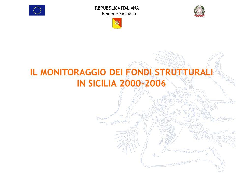 REPUBBLICA ITALIANA Regione Siciliana Il P.O.R.