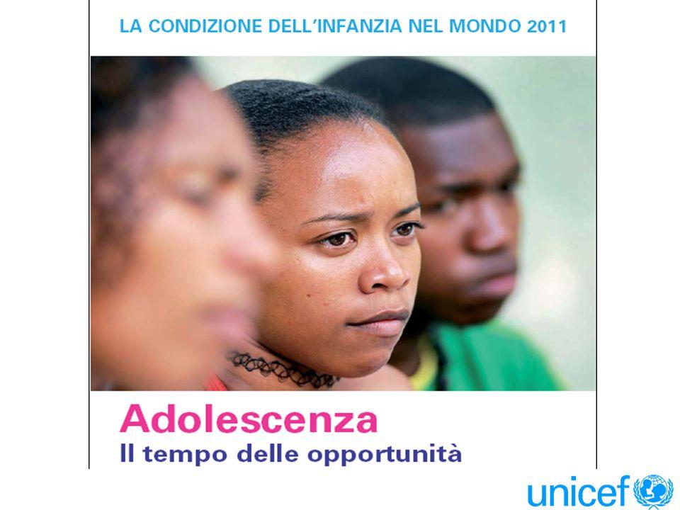 ADOLESCENZA IL TEMPO DELLE OPPORTUNITA Introduzione Oggi 1,2 miliardi di adolescenti si trovano ad un impegnativo crocevia tra l infanzia e il mondo adulto.