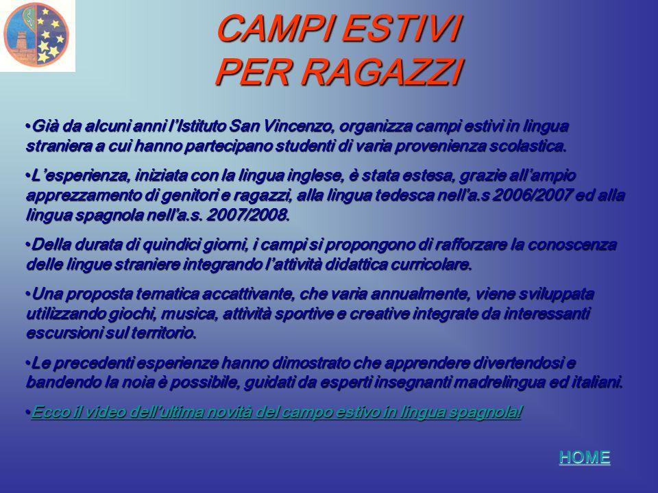 CAMPO DI SPAGNOLO 2008 HOME CLICCA SUL RIQUADRO