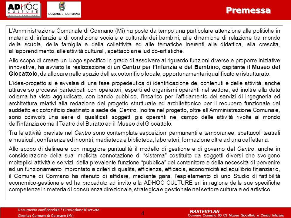 Documento confidenziale / Circolazione Riservata Cliente: Comune di Cormano (Mi) Comune_Cormano_06_03_Museo_Giocattolo_e_Centro_Infanzia COMUNE DI CORMANO MASTERPLAN 25 Piemonte Emilia-Romagna Veneto Trentino-Alto Adige Liguria Fonte: nostra elaborazione da dati Istat fasce d età200320042005 0-3 anni140.348143.468146.153 4-6 anni102.136104.904108.357 7-10 anni135.362136.101138.807 11-14 anni138.577139.664141.739 totale516.423524.137535.056 tot.abitanti 4.330.172 percentuale 12% fasce d età200320042005 0-3 anni44.75445.75847.093 4-6 anni33.16033.32933.986 7-10 anni45.16644.93745.368 11-14 anni46.32747.25247.748 totale169.407171.276174.195 tot.abitanti 1.592.309 percentuale 11% fasce d età200320042005 0-3 anni41.65241.69642.031 4-6 anni31.47331.86332.315 7-10 anni40.50840.92641.894 11-14 anni39.61340.51441.077 totale153.246154.999157.317 tot.abitanti 974.613 percentuale 16% fasce d età200320042005 0-3 anni137.198141.832146.233 4-6 anni95.54498.959103.871 7-10 anni123.335125.261129.785 11-14 anni123.570126.795129.587 totale479.647492.847509.476 tot.abitanti 4.151.369 percentuale 12% fasce d età200320042005 0-3 anni172.262175.240146.233 4-6 anni125.794128.792103.871 7-10 anni162.306164.221129.785 11-14 anni163.694166.266129.587 totale624.056634.519509.476 tot.abitanti 4.699.950 percentuale 11% Il profilo socio demografico: la situazione attuale La popolazione infantile nelle regioni del nord: I dati che seguono rappresentano la situazione attuale della popolazione nelle regioni limitrofe.