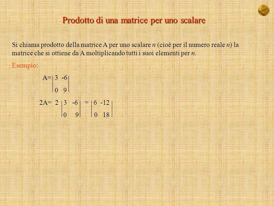 Applicando lequazione X = A -1 B X 5/11 -4/11 2/11 11 x 3 Y = 3/11 2/11 -1/11 0 y = 4 Z -4/11 1/11 5/11 -11 z -9 X= 3 Y = 4 Z = -9