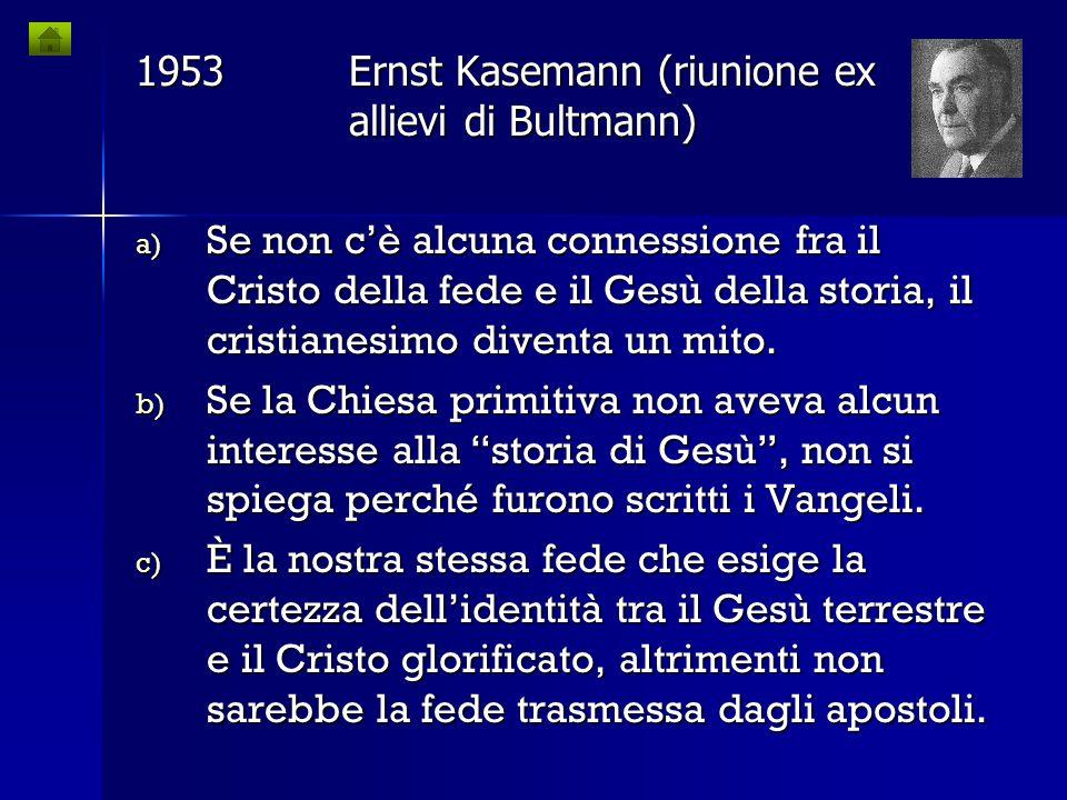 1921Rudolf Bultmann Storia della tradizione sinottica