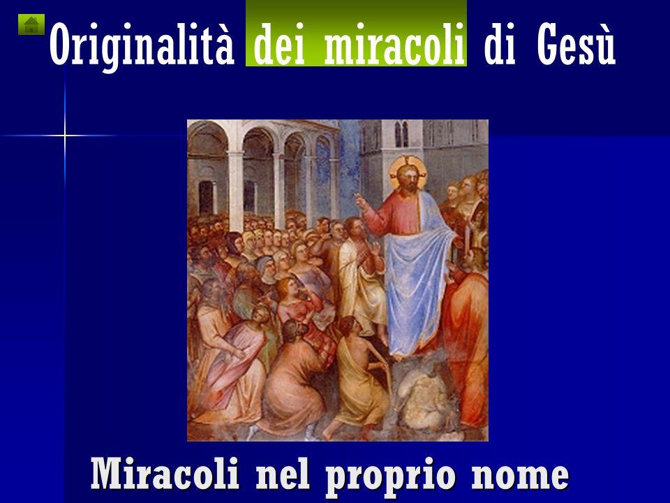 Originalità di Gesù nei confronti del Giudaismo Originalità dei Vangeli sCONFITTa