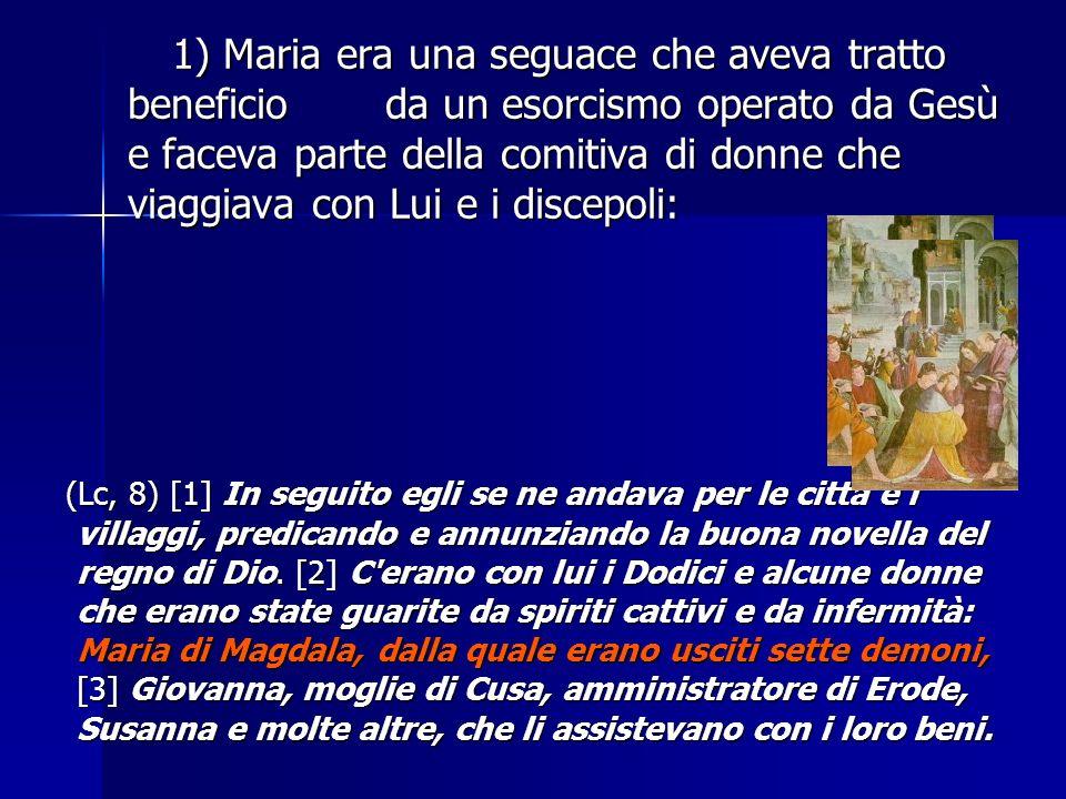 1. Maria, la madre di Gesù (Luca 1,30-31); 2. Maria di Betania (Giovanni 11,1); 3. Maria, la madre di Giacomo che non era il fratello del Signore (Mat
