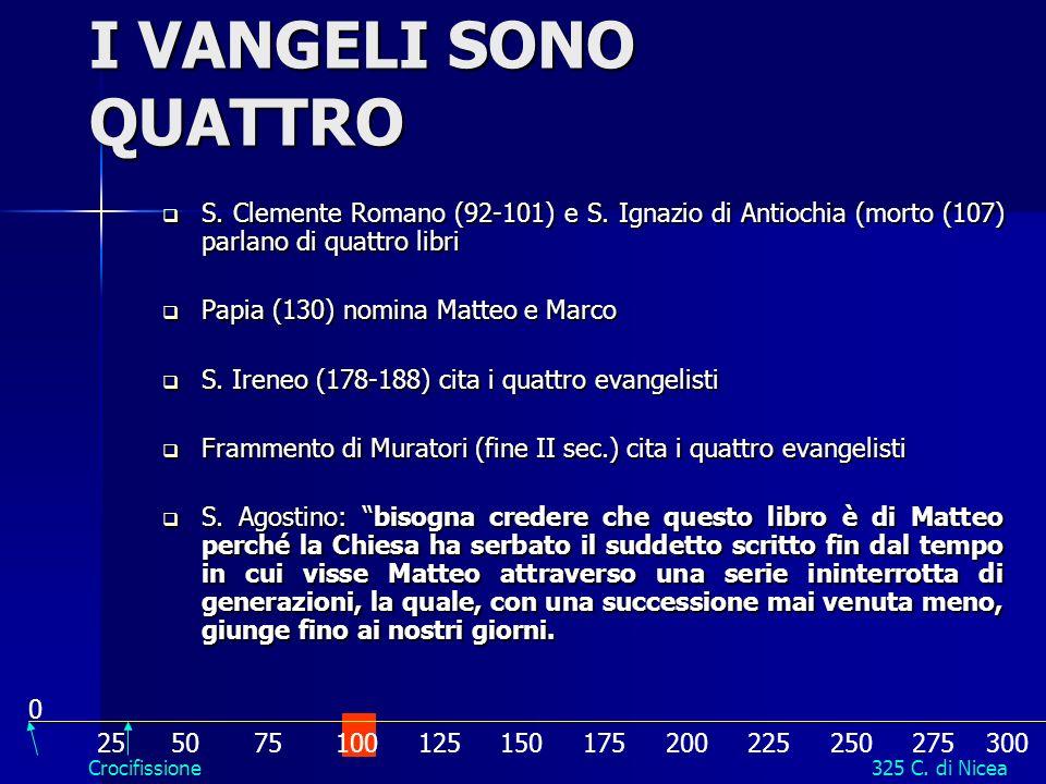 La Chiesa si sentì nellobbligo di distinguere libri autorevoli da quelli apocrifi. Si appellava: 1. Antichità dei Vangeli. 2. Apostolicità. Dovevano r